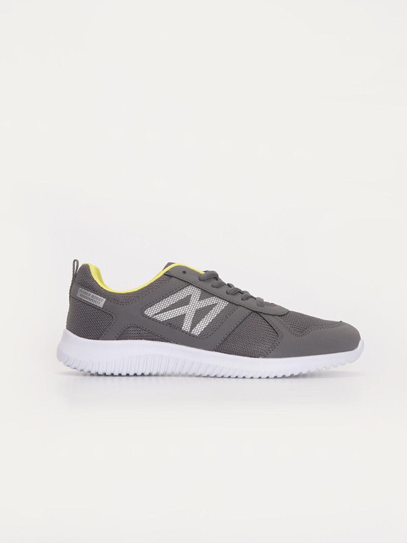 Gri Erkek Bağcıklı Günlük Spor Ayakkabı 9WN949Z8 LC Waikiki