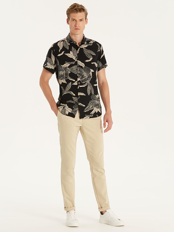 Bej Slim Fit Pantolon 9WP120Z8 LC Waikiki