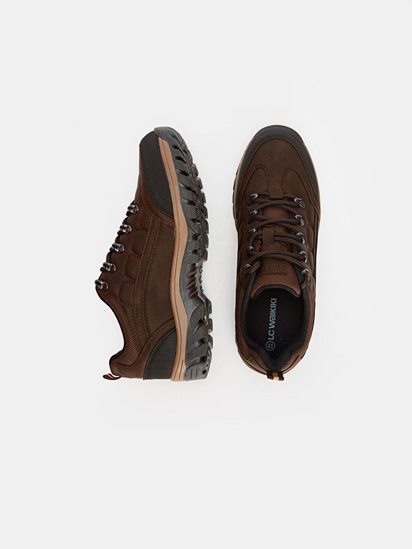 Tekstil malzemeleri Diğer malzeme (pvc) Günlük Düz Penye Astar Trekking Standart Bağcık EVA Erkek Bağcıklı Trekking Ayakkabı