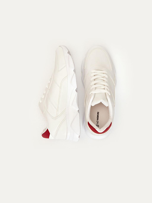 Diğer malzeme (pvc) Hafif Penye Astar Düz Standart Bağcık Aktif Spor Ayakkabı EVA Günlük Erkek Bağcıklı Günlük Spor Ayakkabı