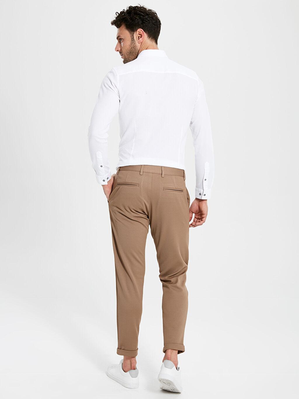 Erkek Slim Fit Armüllü Pantolon