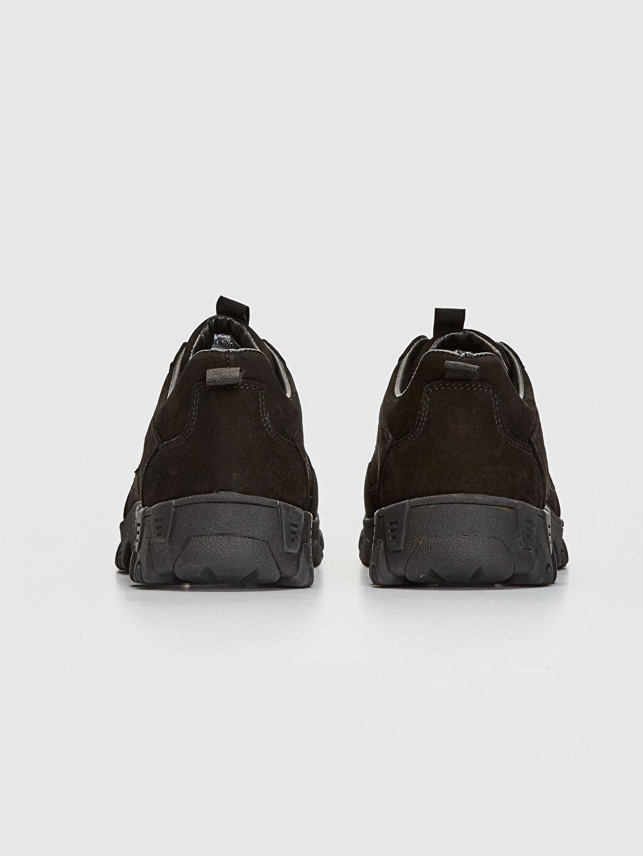 Erkek Hakiki Deri Trekking Ayakkabı