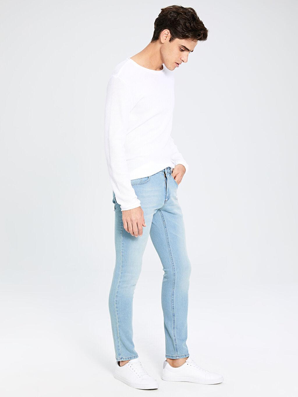 İndigo 750 Slim Fit Jean Pantolon 9WV173Z8 LC Waikiki