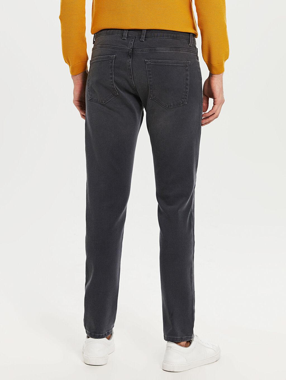 LC Waikiki Gri 750 Slim Fit Jean Pantolon