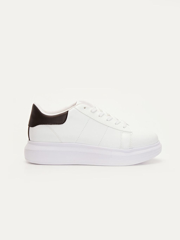 Beyaz Kadın Kadın Taban Günlük Spor Ayakkabı 9W5427Z8 LC Waikiki