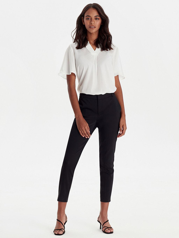 Siyah Bilek Boy Slim Pantolon 9W8311Z8 LC Waikiki