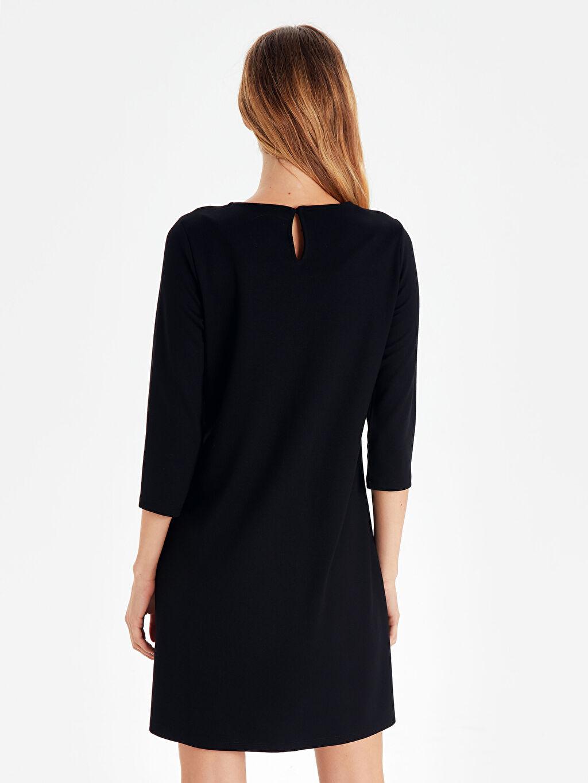 Kadın Düz Esnek Hamile Elbise