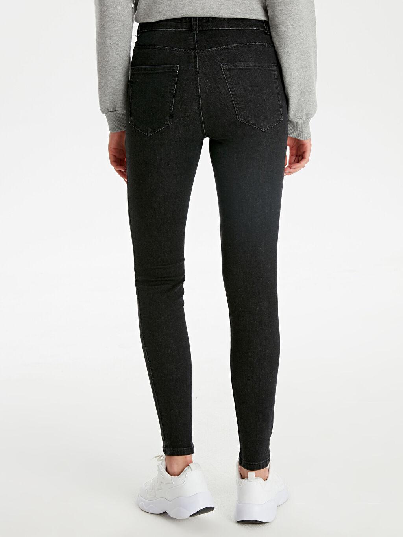 %84 Pamuk %14 Polyester %2 Elastan Skinny Jean Pantolon