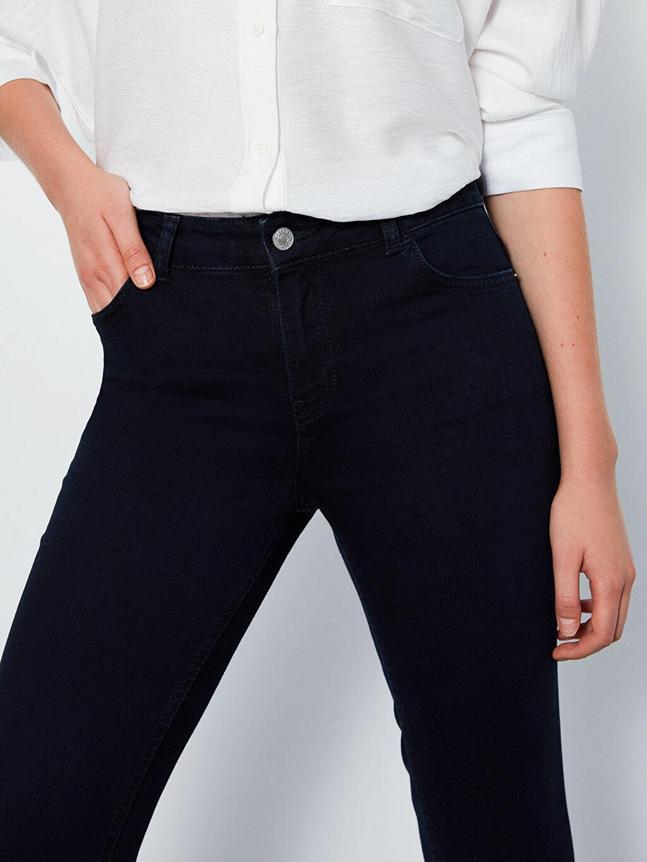 Kadın Çizme Paça Esnek Jean Pantolon