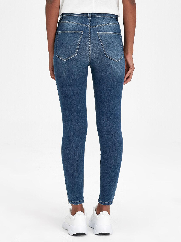 Kadın Bilek Boy Super Skinny Jean Pantolon