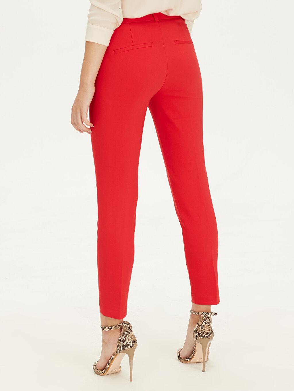 Kadın Normal Bel Esnek Slim Pantolon