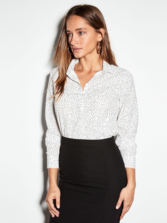 Kadın Krep Gömlek