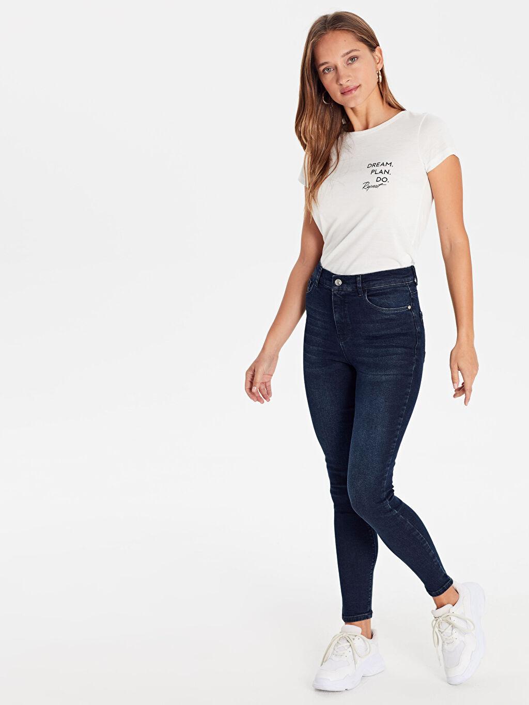 Lacivert Super Skinny Jean Pantolon 9WN302Z8 LC Waikiki