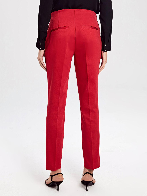 Kadın Yüksek Bel Havuç Pantolon