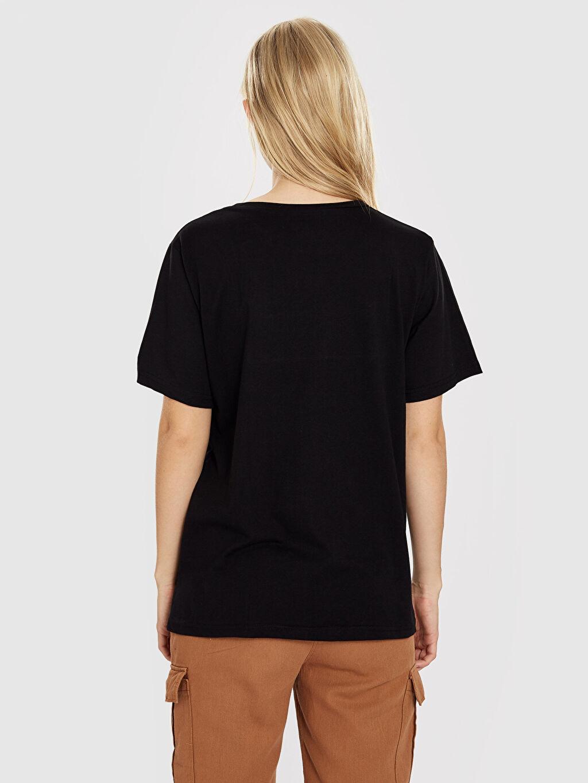 Quzu Baskılı Pamuklu Tişört