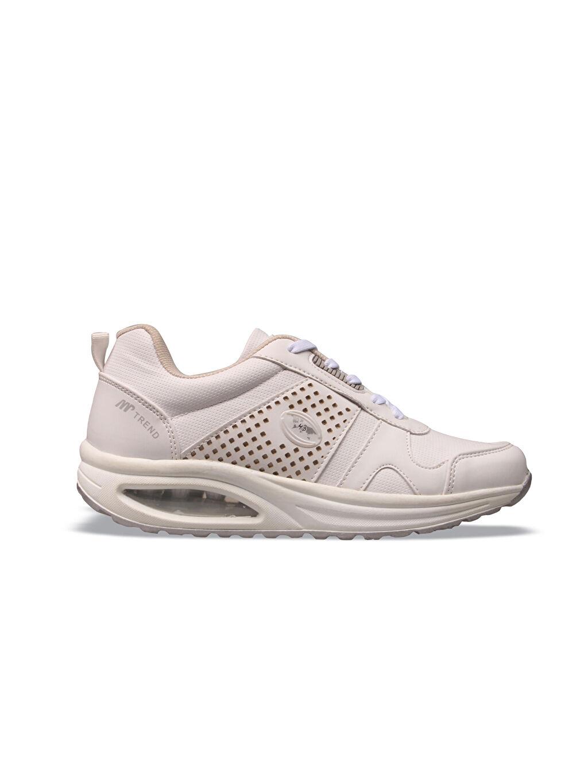 Beyaz M.P Kadın Yürüyüş Ayakkabısı 9WY851Z8 LC Waikiki