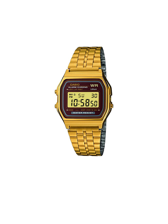 Sarı Casio A159WGEA-5DF Kadın Kol Saati 9WA960Z8 LC Waikiki