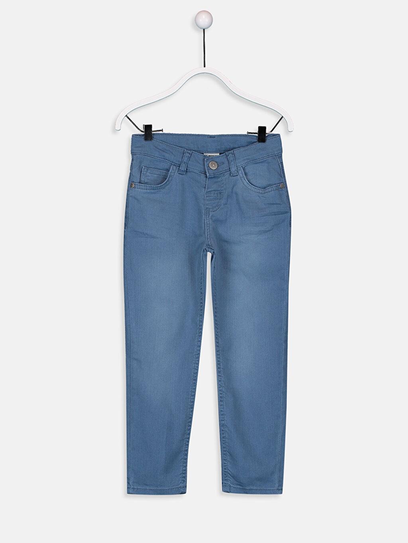 Mavi Erkek Çocuk Slim Jean Pantolon 9W0846Z4 LC Waikiki