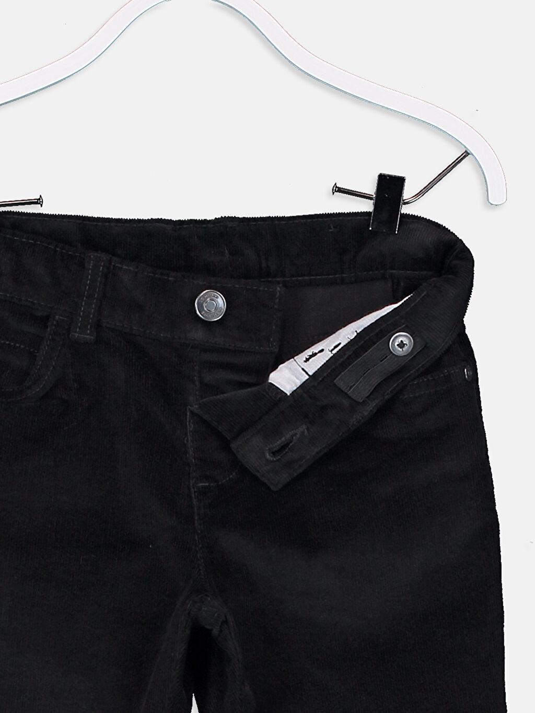 Erkek Çocuk Erkek Çocuk Slim Fit Kadife Pantolon
