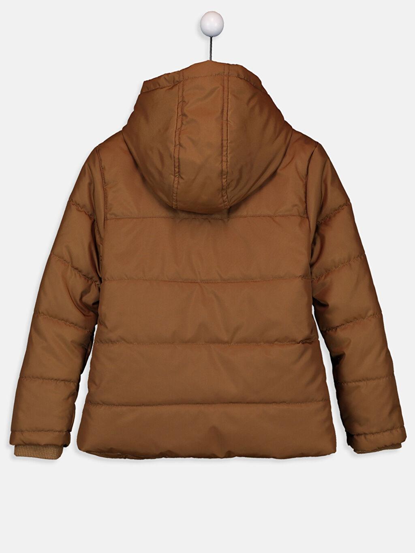 %100 Polyester %100 Polyester Casual Oxford Polar Astar Düz Kalın Standart Şişme Mont Erkek Çocuk Şişme Mont