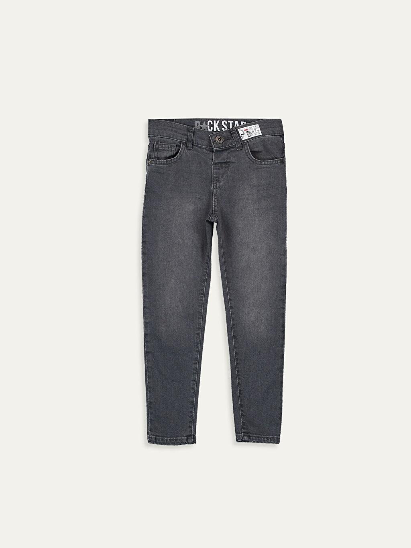 Gri Erkek Çocuk Skinny Jean Pantolon 9W1172Z4 LC Waikiki