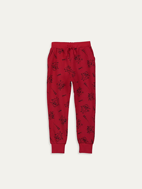 Kırmızı Erkek Çocuk Jogger Eşofman Altı 9W1985Z4 LC Waikiki