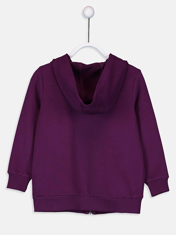 %68 Pamuk %32 Polyester Kalın Sweatshirt Kumaşı Sweatshirt Düz Kapüşonlu Kız Çocuk Fermuarlı Kapüşonlu Sweatshirt
