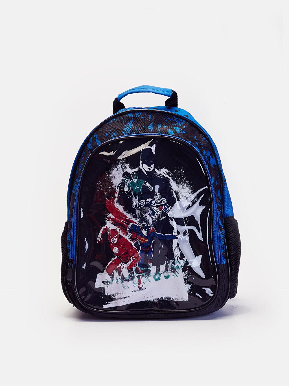 Mavi Erkek Çocuk Justice League Sırt Çantası 9W2516Z4 LC Waikiki