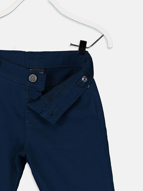 Erkek Çocuk Erkek Çocuk Skinny Armürlü Pantolon