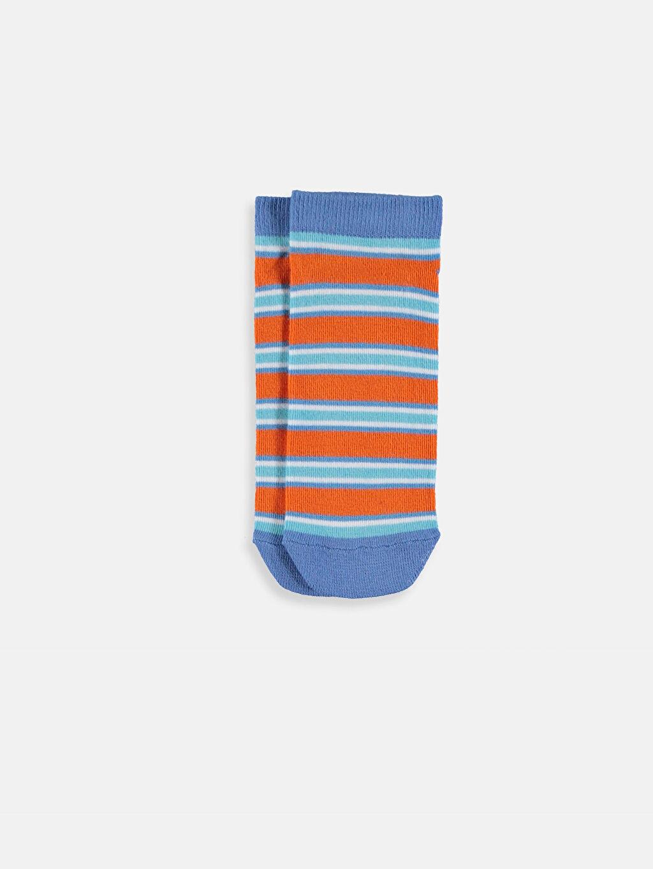 LC Waikiki Çok Renkli Erkek Çocuk Patik Çorap 5'li