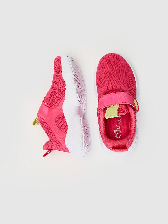 %0 Diğer malzeme (poliüretan) %0 Tekstil malzemeleri (%100 poliester) Cırt Cırt Aktif Spor Ayakkabı Işıksız Polyester Astar Kız Çocuk Kalın Taban Işıklı Spor Ayakkabı