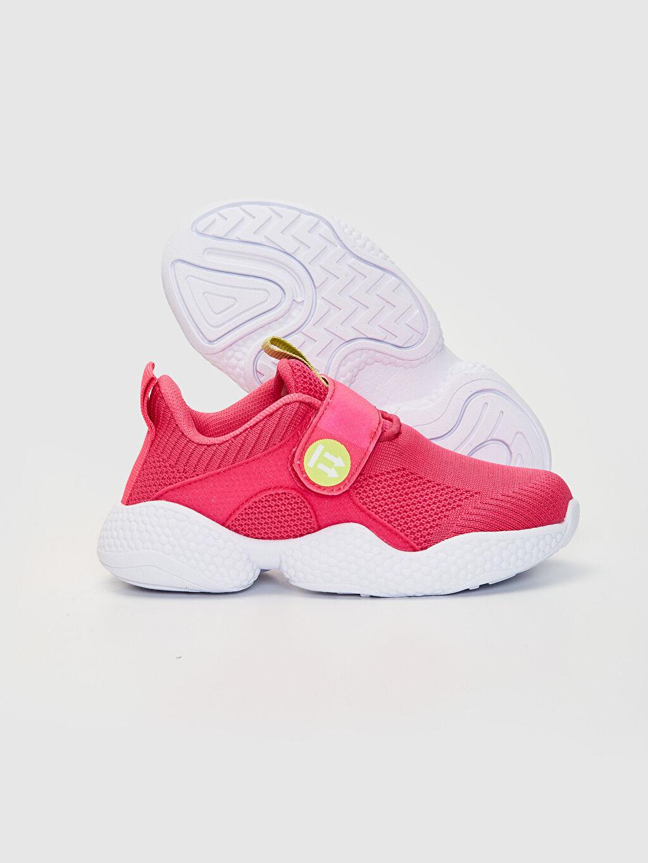 Kız Çocuk Kız Çocuk Kalın Taban Işıklı Spor Ayakkabı