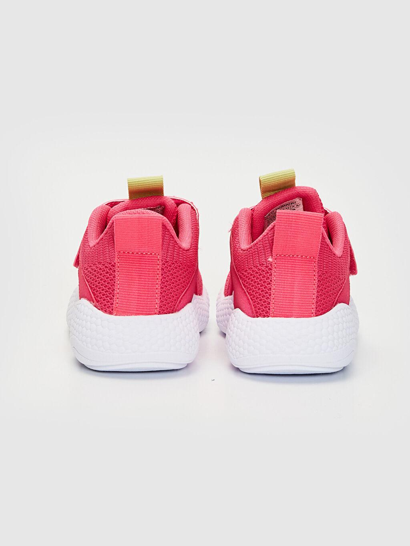 Kız Çocuk Kalın Taban Işıklı Spor Ayakkabı