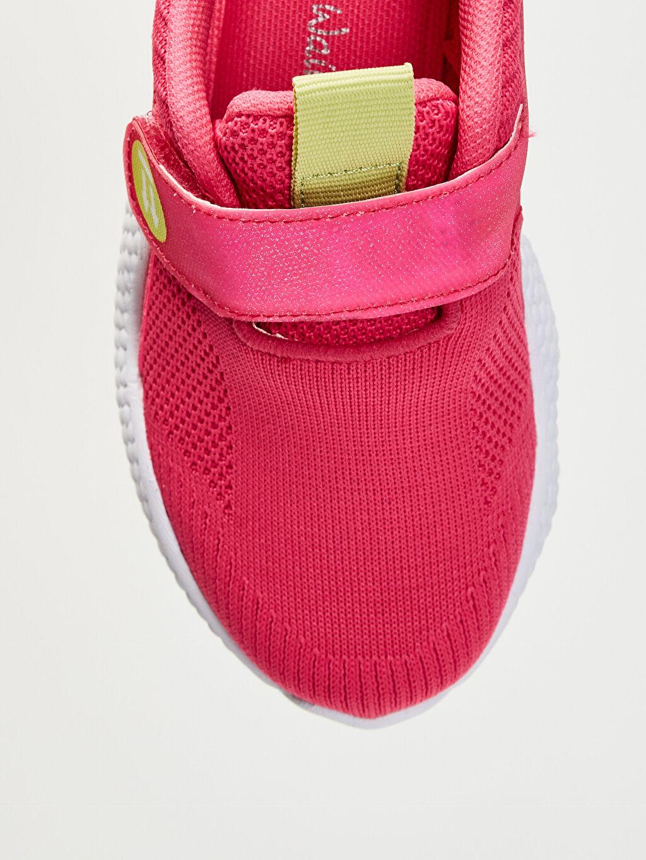 LC Waikiki Pembe Kız Çocuk Kalın Taban Işıklı Spor Ayakkabı