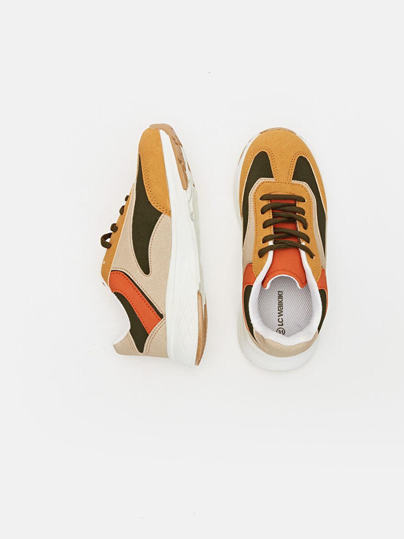Diğer malzeme (pvc) Tekstil malzemeleri Günlük Sneaker Kısa Penye Astar Spor Çantası Bağcık Erkek Çocuk Kalın Taban Spor Ayakkabı