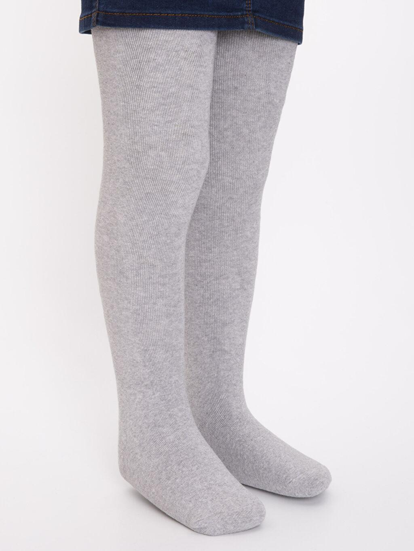 Kız Çocuk Kız Çocuk Pamuklu Havlu Külotlu Çorap
