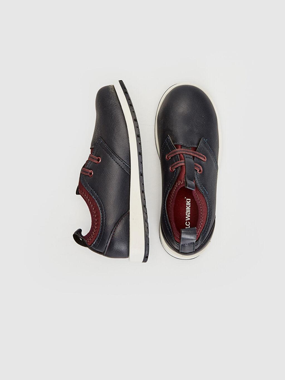 Diğer malzeme (pvc) Tekstil malzemeleri Klasik Ayakkabı Kısa Penye Astar Bağcık Erkek Çocuk Klasik Ayakkabı