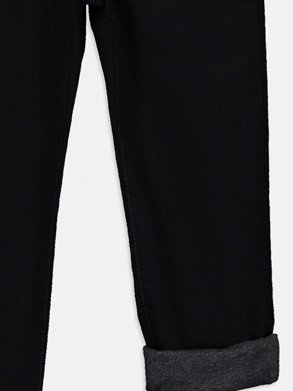 %80 Pamuk %18 Polyester %2 Elastan Erkek Çocuk Jean Pantolon