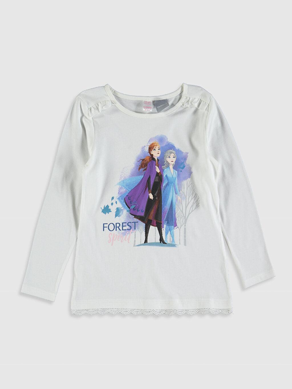 Kız Çocuk Kız Çocuk Frozen Baskılı Pamuklu Pijama Takımı