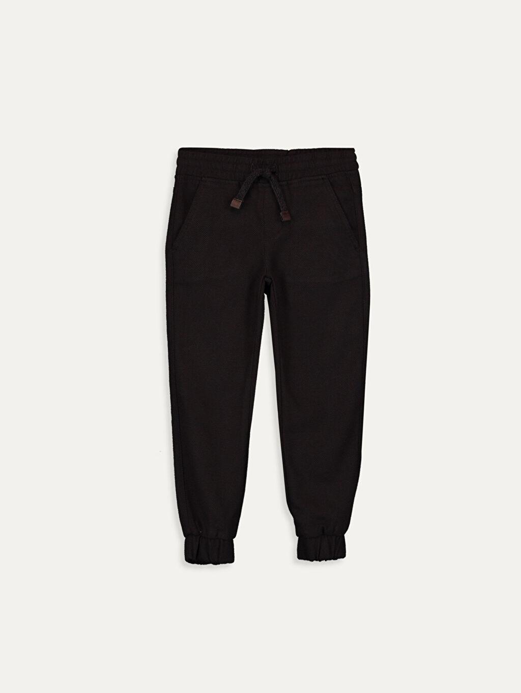 Kahverengi Erkek Çocuk Jogger Pantolon 9W5656Z4 LC Waikiki