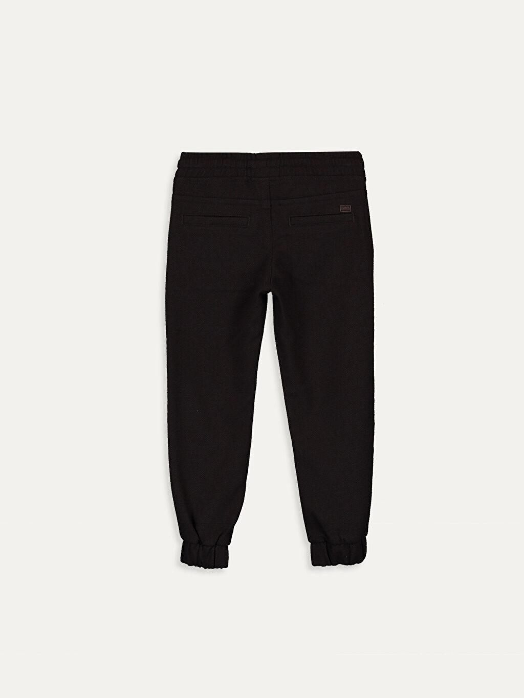 %64 Polyester %2 Elastan %34 Viskon Aksesuarsız Standart Normal Bel Astarsız Pantolon Diğer Erkek Çocuk Jogger Pantolon