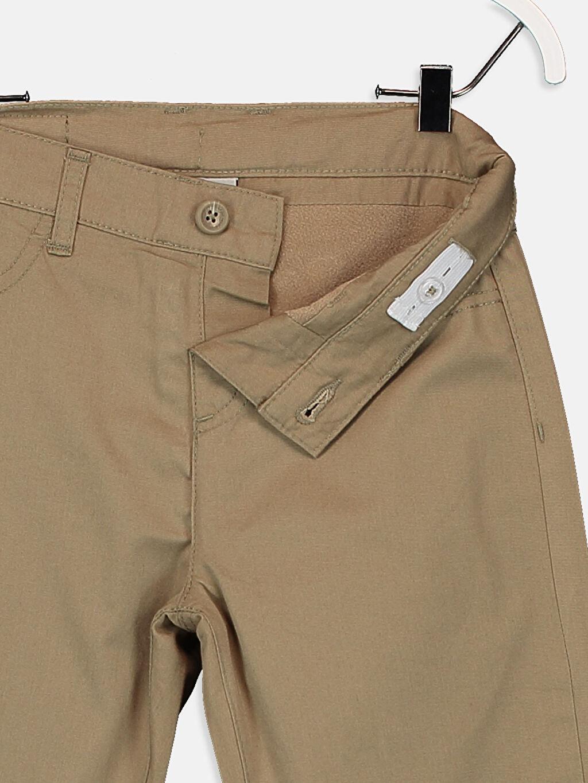 %100 Pamuk Erkek Çocuk Gabardin Pantolon