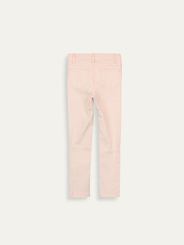 Kız Çocuk Kız Çocuk Çift Yönlü Payetli Skinny Pantolon