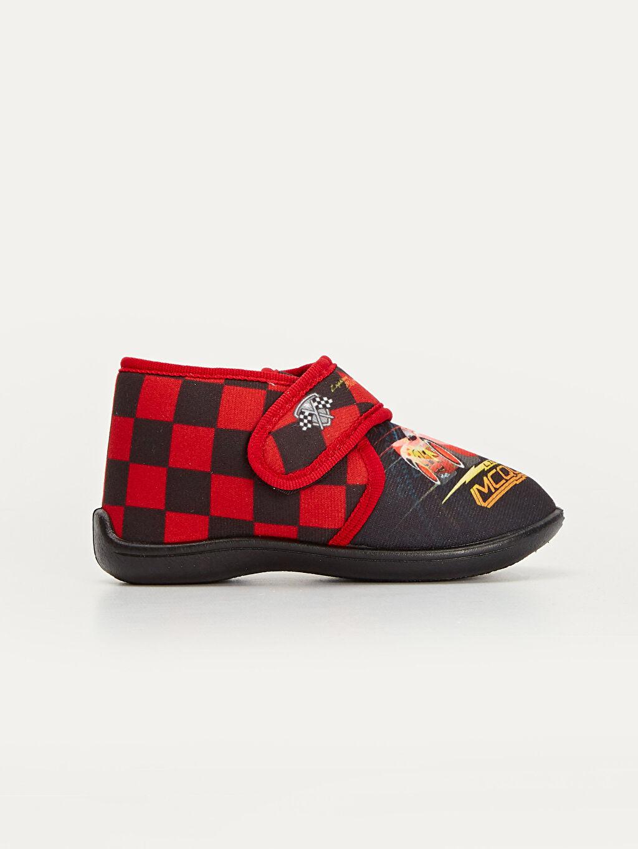 Siyah Erkek Çocuk McQueen Baskılı Ev Ayakkabısı 9W8235Z4 LC Waikiki