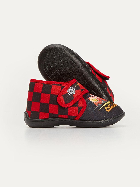 Erkek Çocuk Erkek Çocuk McQueen Baskılı Ev Ayakkabısı