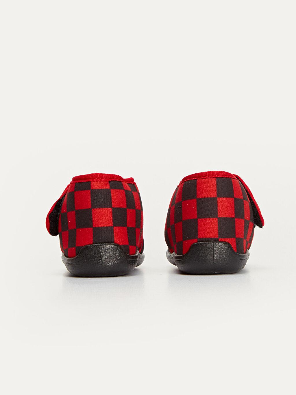 Erkek Çocuk McQueen Baskılı Ev Ayakkabısı