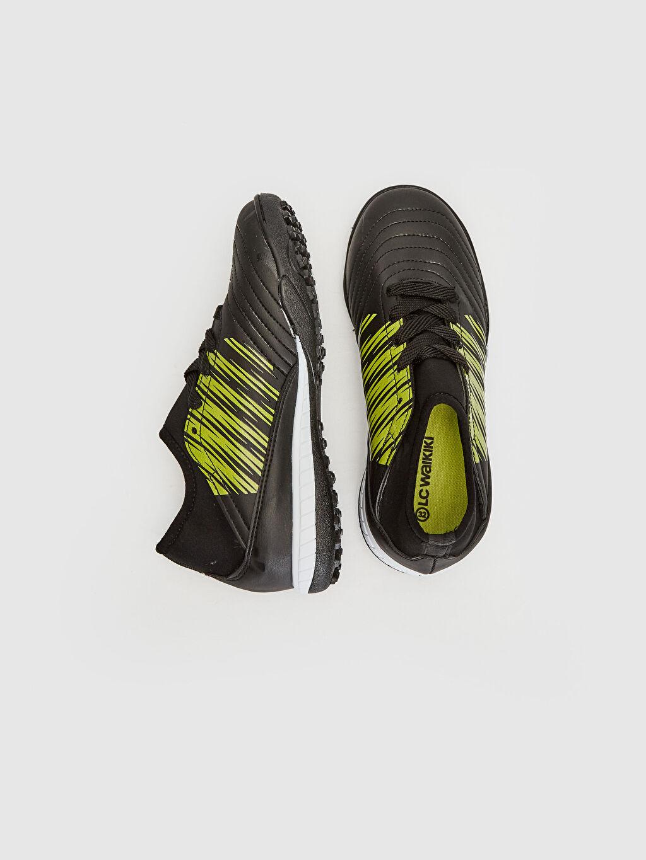 Tekstil malzemeleri Diğer malzeme (pvc) Tekstil malzemeleri Bağcık Spor Sneaker Kısa Penye Astar Erkek Çocuk Halı Saha Ayakkabısı