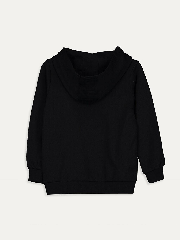 %67 Pamuk %33 Polyester Düz Kapüşon Yaka İnce Sweatshirt Kumaşı Sweatshirt Erkek Çocuk Atatürk İmzalı Sweatshirt