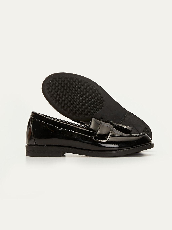 Kız Çocuk Kız Çocuk Püskül Detaylı Loafer Ayakkabı