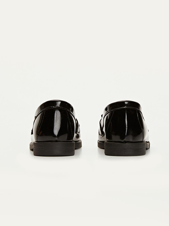 Kız Çocuk Püskül Detaylı Loafer Ayakkabı